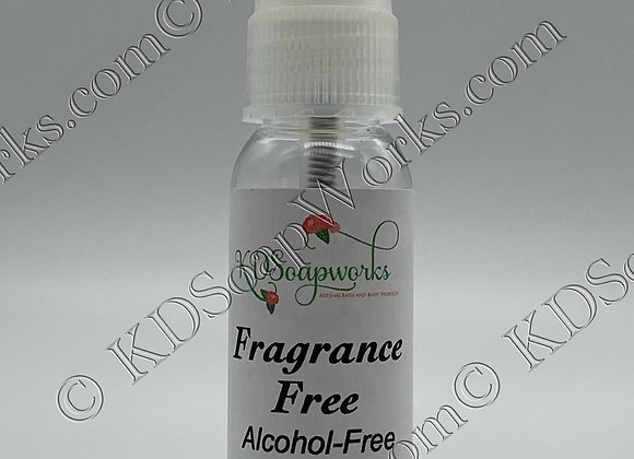 Hand Sanitizer (Alcohol Free) - Fragrance Free