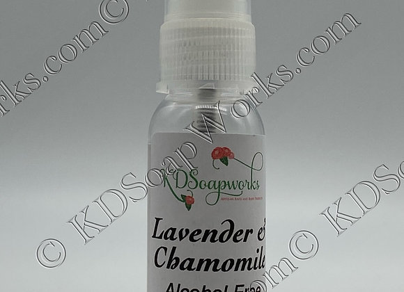 Hand Sanitizer (Alcohol Free) - Lavender & Chamomile