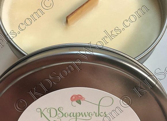 Soy Wax Candle - 6 oz Frankincense & Myrrh
