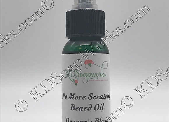 Premium Beard Oil - Dragons Blood