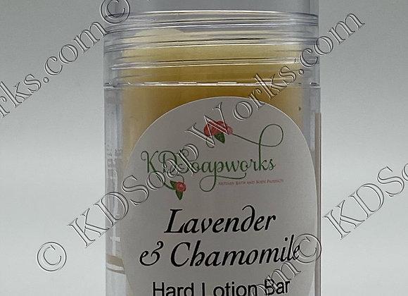 Hard Lotion Bar - Lavender & Chamomile