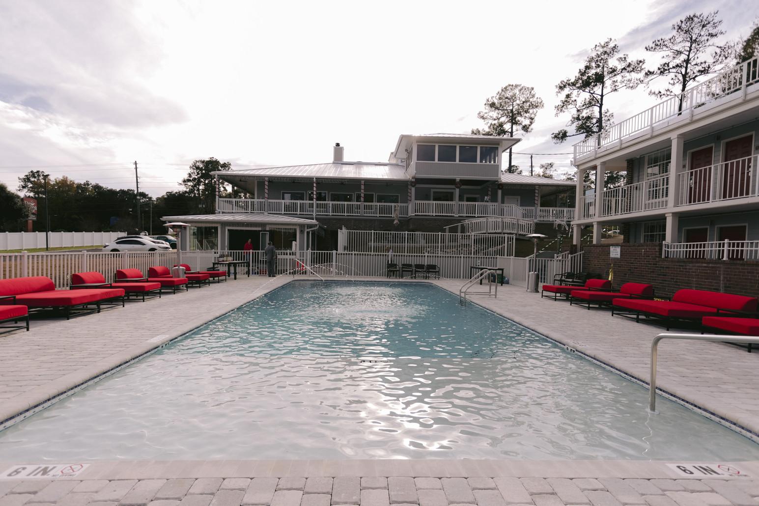 Seven HIlls Suites' Resort-Style Pool