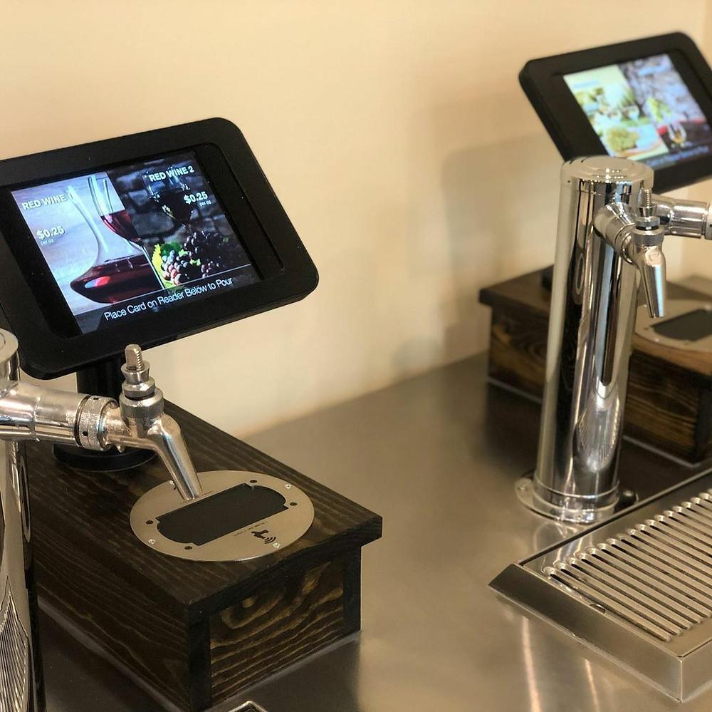 Self Serve Beer & Wine Machine at The Equus Inn in Ocala