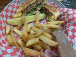 The Jai Alai Quesa Burger