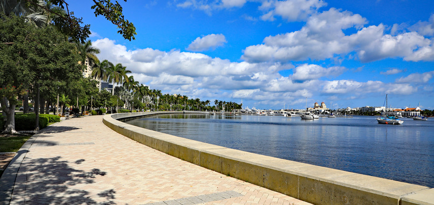 Flagler Drive Waterfront