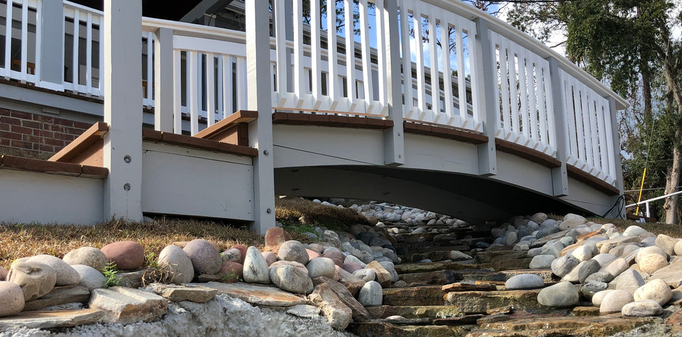 Handmade Creek Under Our Bridge