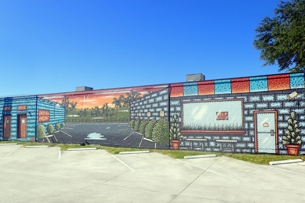 Kountry Kitchen Mural