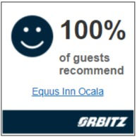 100% of guests recommend Equus Inn Ocala, Orbitz.com
