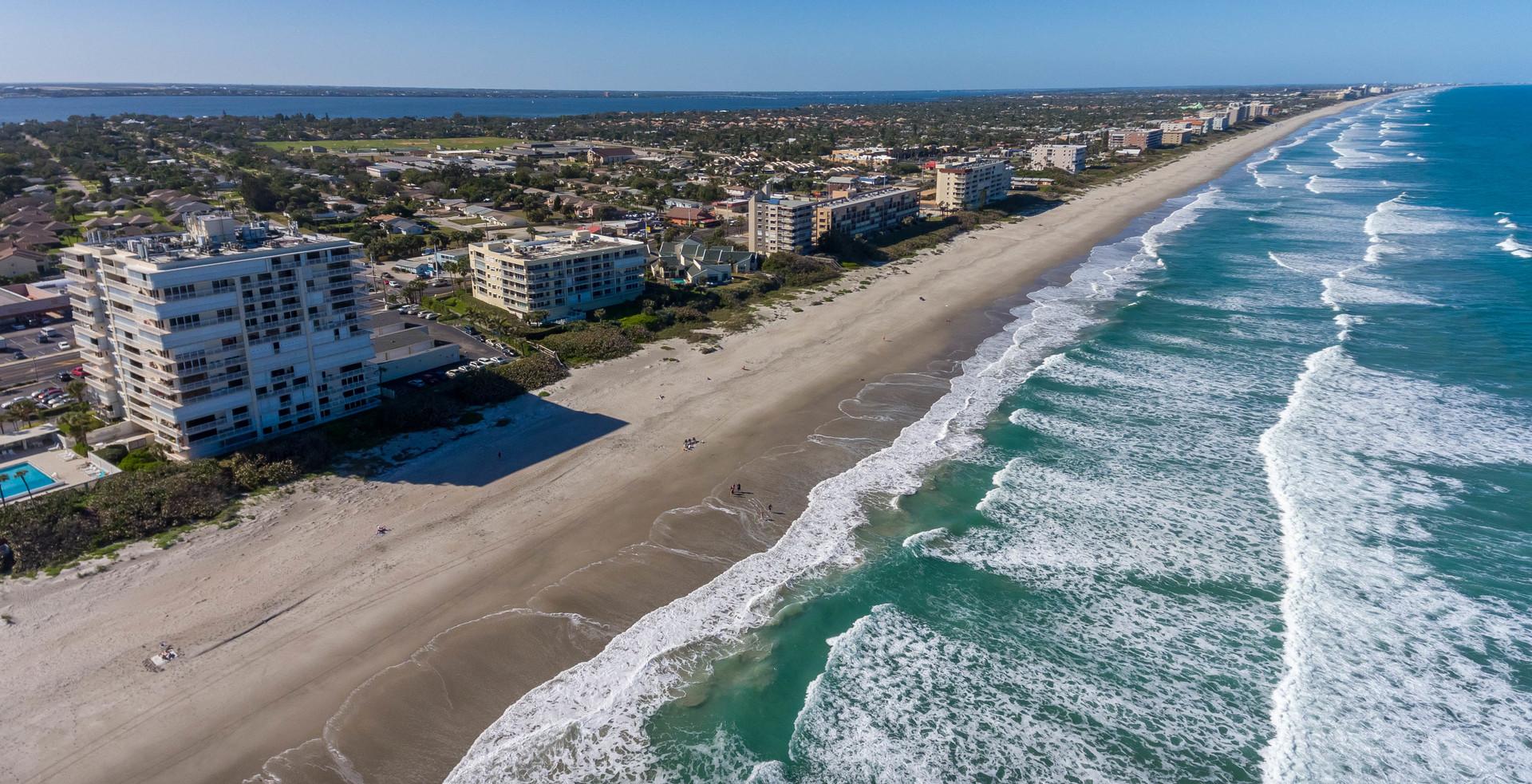 Aerial View Melbourne Florida