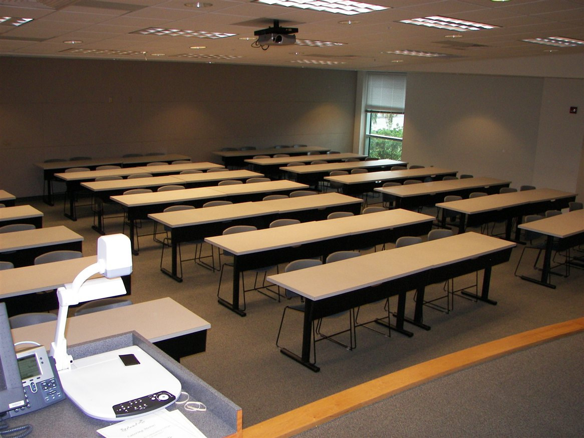 Our Partner, The College of Central Florida's Classroom-Style Meeting Space