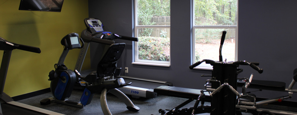 Gym - Cardio Area Looking Towards Window