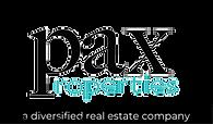 pax properties a diversified real estate company logo