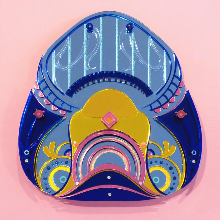 Pan. Floral Shoe 2018 [sold]