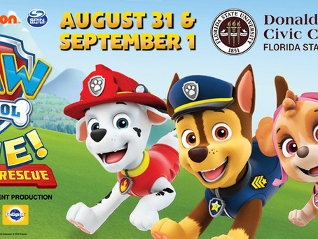 Tallahassee Kids Events: Paw Patrol Live