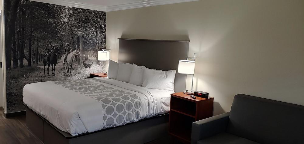 The Equus Inn King Hotel Room in Ocala, FL