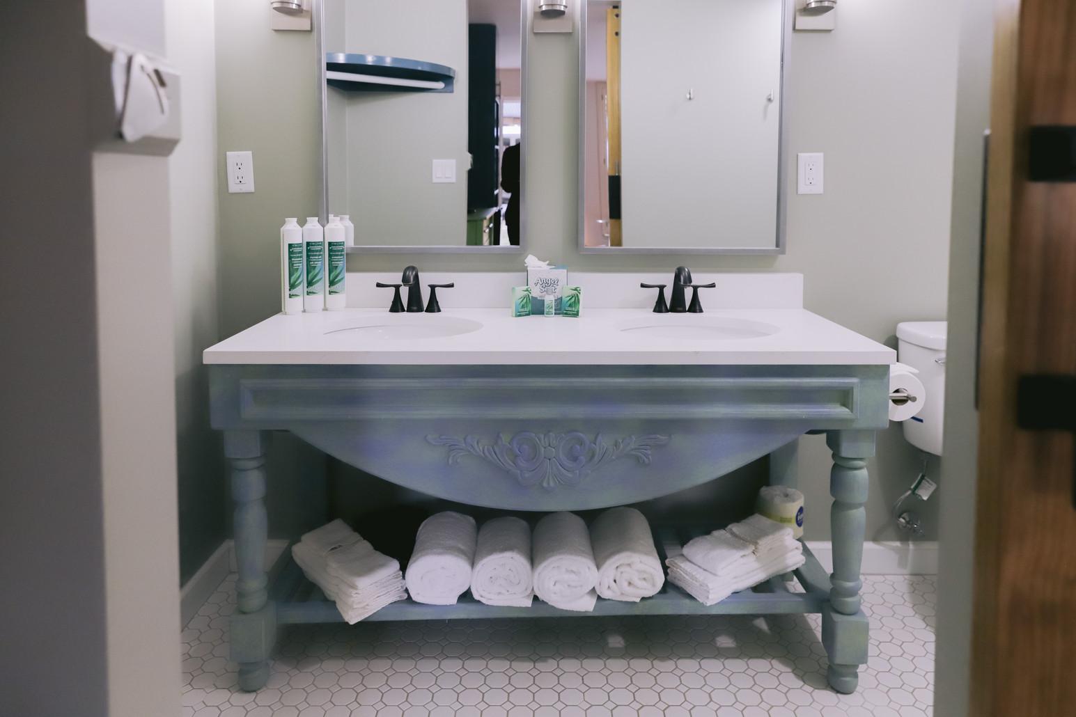 Handmade & Painted Bathroom Vanities