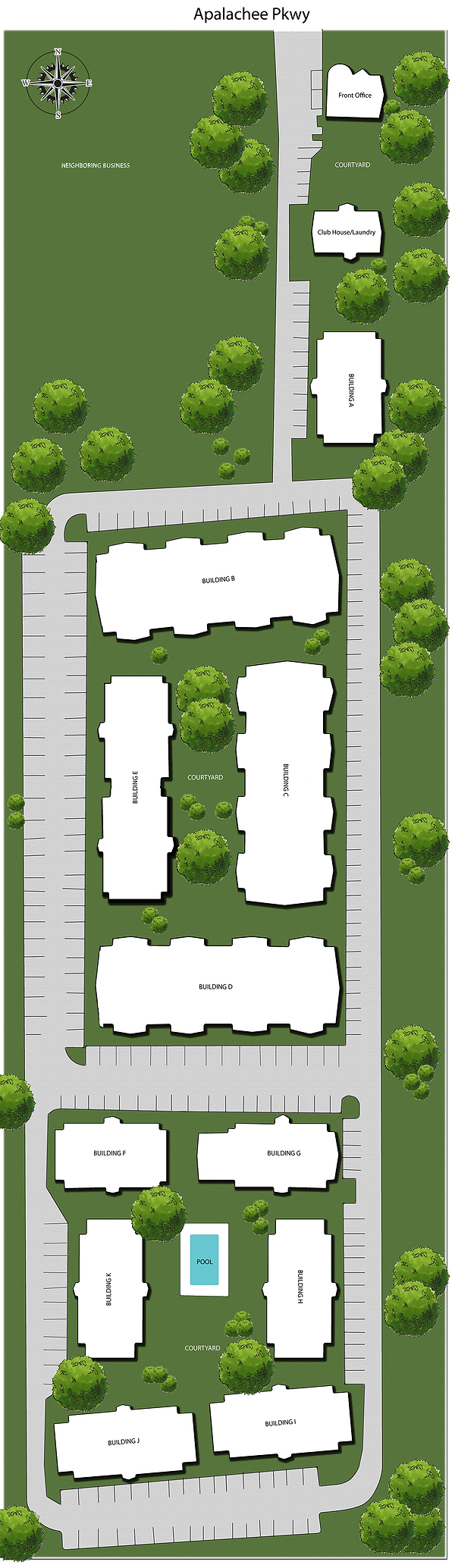Renaissance Apartments at Capital Circe Site Plan