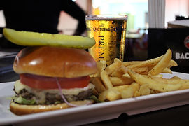 Burger, Fries & Beer