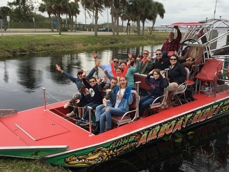 Melbourne, FL Attractions: Airboat Rides