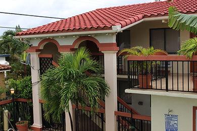 Exterior Scandia Lodge Second Level Picture