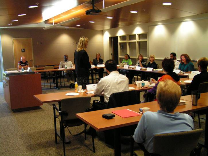 Our Partner, The College of Central Florida's Strategic Planning Room