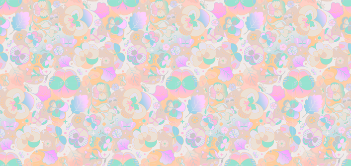 Butterflies on Pansies ( blush )