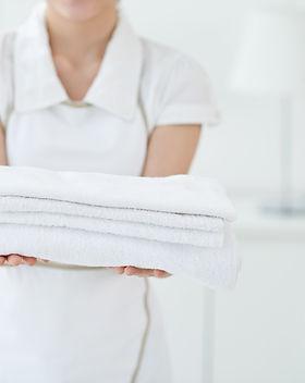 Housekeeper Giving Towels.jpeg
