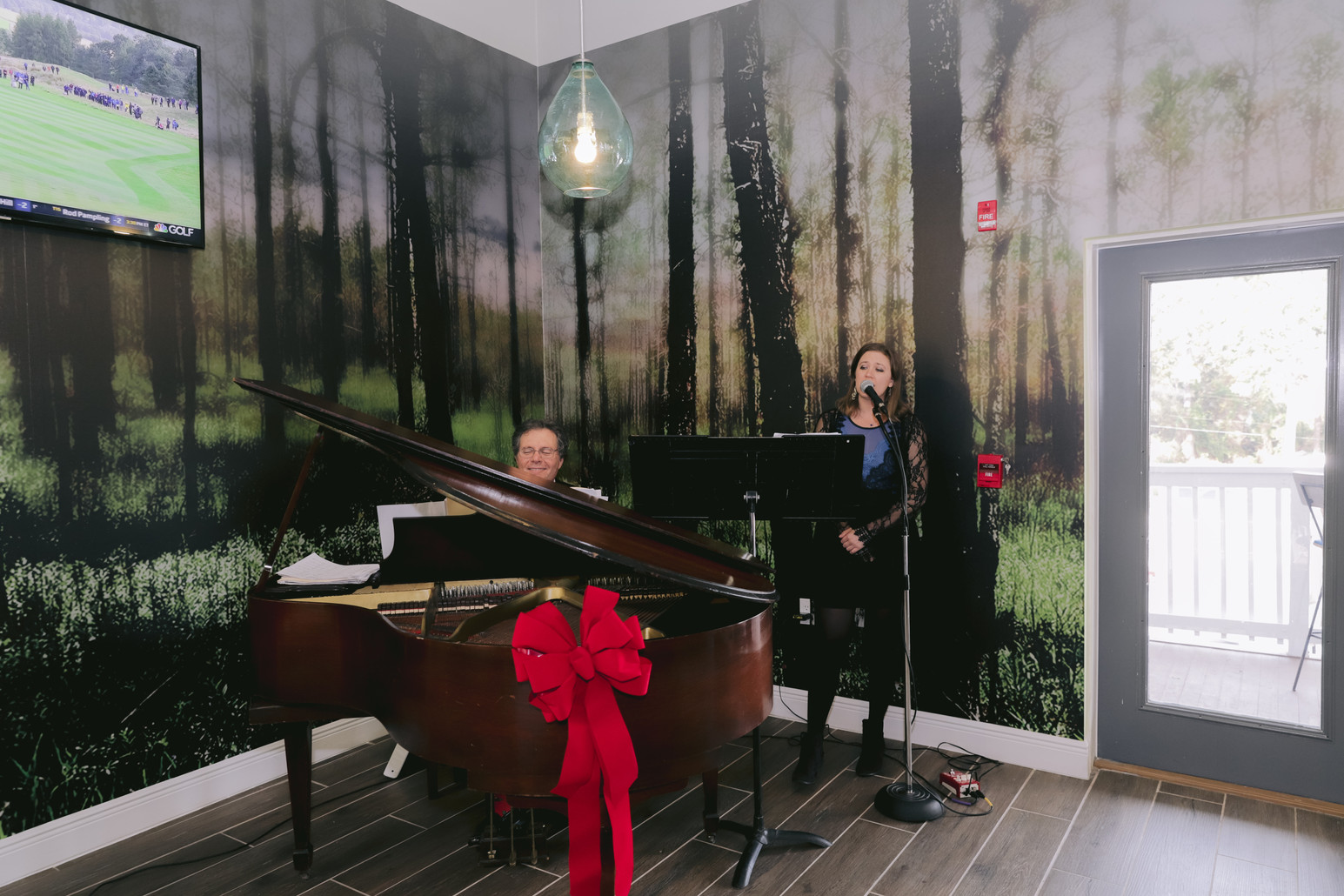 Baby Grand Paino In Our Spacious Lobby