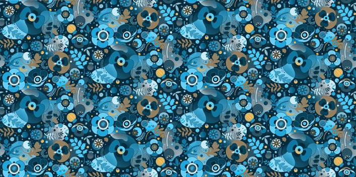 The Poppy ( blue )