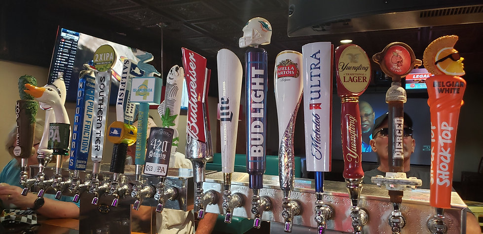 Craft Beers In Vero Beach At JJ's Sports Bar & Grille