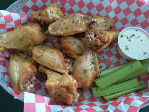 Garlic Parm Wings