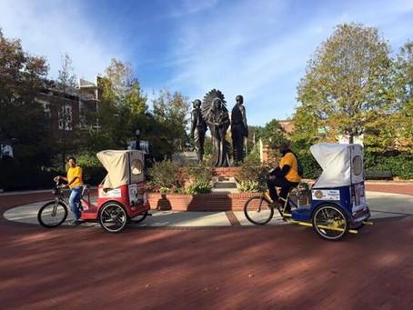 Exploring Tallahassee: Capital City Pedicabs