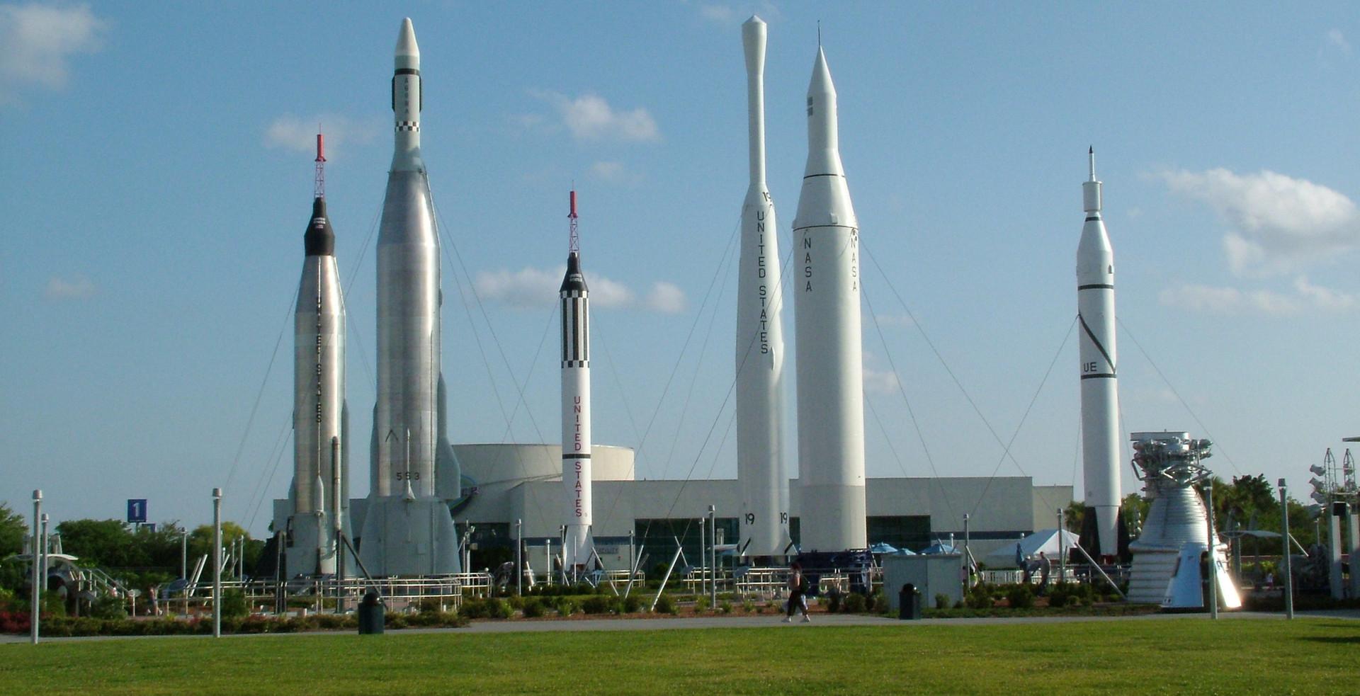 Rocket Garden at The Kennedy Space Center