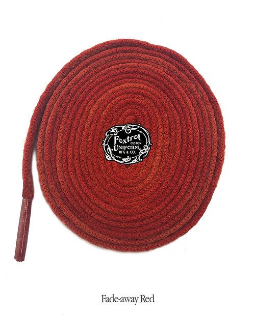 Foxtrot Uniform Sports Laces RED