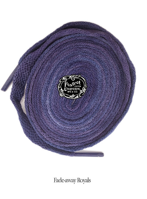 Foxtrot Uniform Sports Laces ROYAL