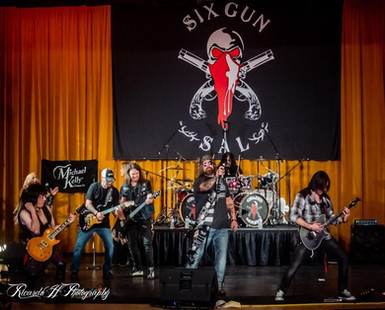 Six Gun Sal Rocking the Stage