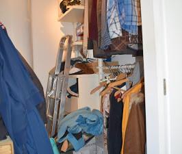 Closet pequeno - 1,5h