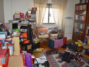 Arrumação dum escritório/closet - 3h