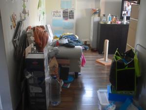 Organização total de um apartamento