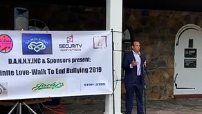 Anthony Deliso, Esq. speaks at Danny's Law event