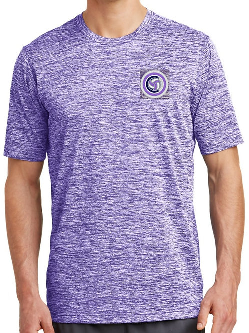 Sport-Tek - Mens PosiCharge Electric Tee (Purple)