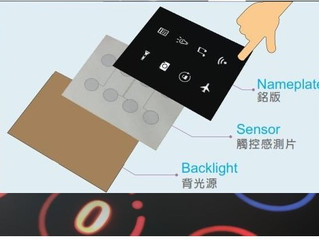 LIGHTED & FLAT TOUCH-KEYS