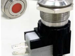 26A/250V ON-OFF Pushbutton