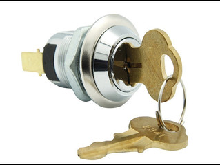 SHORT BODY IP67 KEY-SWITCH