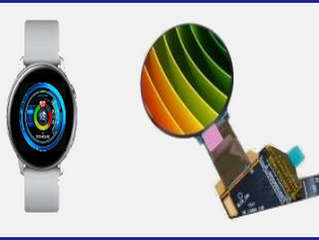AMOLED DISPLAY for wearable devices