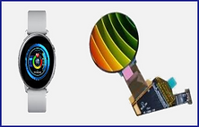 AMOLED FOR WEARABLE APP
