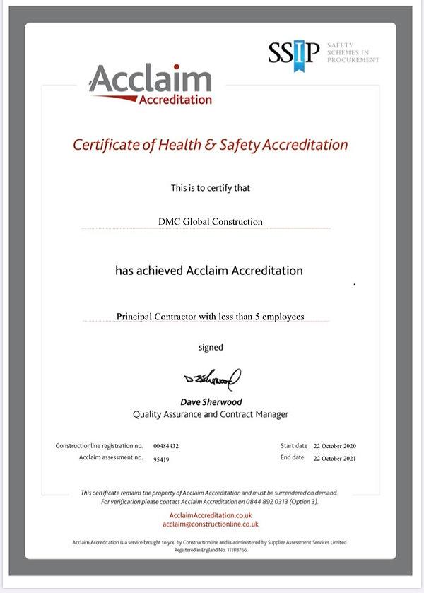 Aclaim Acreditation DMC Global.jpg