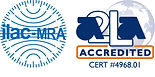 ILAC MRA-A2LA Accredited Symbol 4968.01.