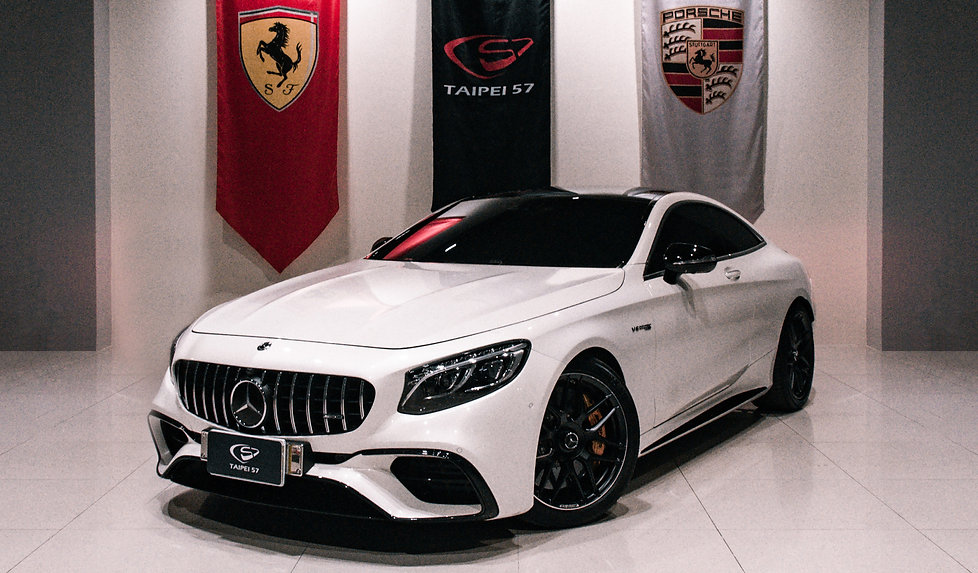 mercedes benz s63 amg coupe 正面|taipei57