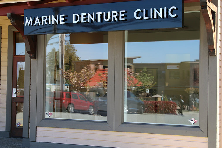 Powell River Marine Denture Clinic What to Expect on the Frist Visit Front door